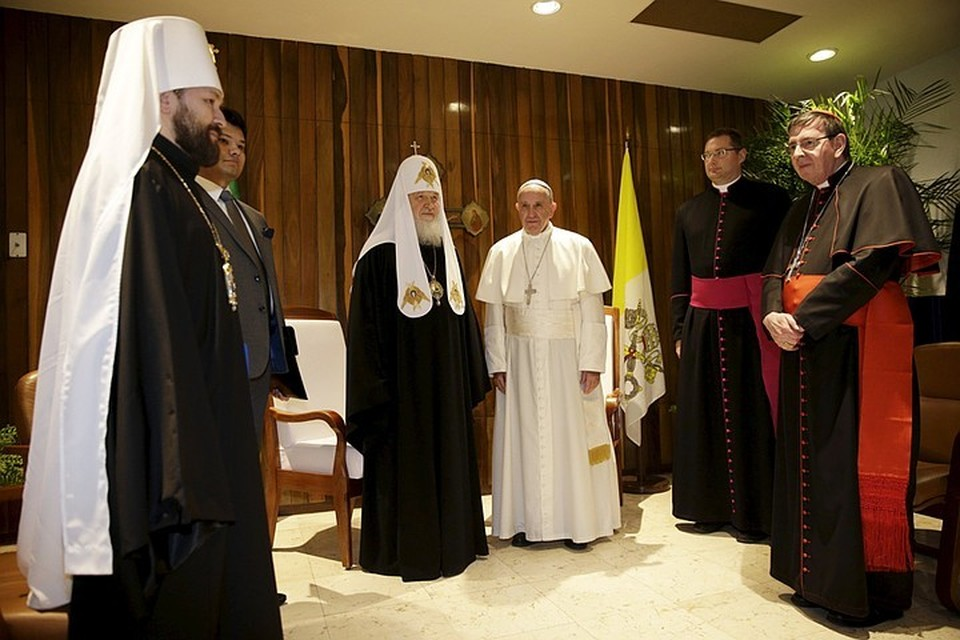 В Гаване прошла историческая встреча Папы Франциска и Патриарха Кирилла