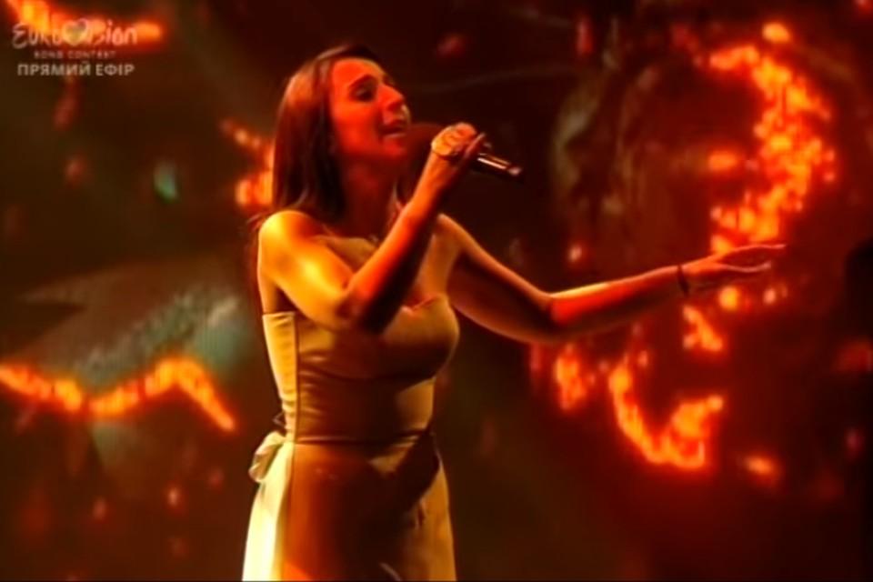 Представлять Украину на конкурсе «Евровидение» будет певица Джамала. Фото: стоп-кадр выступления Джамалы