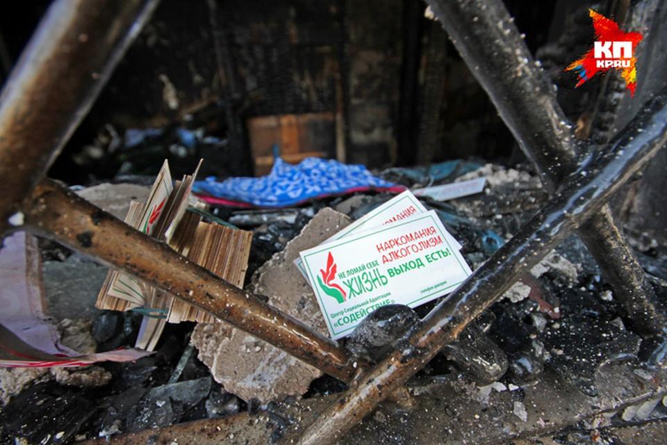 Когда приехали огнеборцы, дом уже горел открытым пламенем.