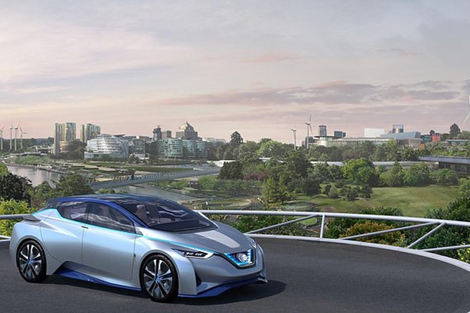 Футуристичный IDS Concept демонстрирует, как новые технологии могут изменить нашу жизнь. Фото: Nissan