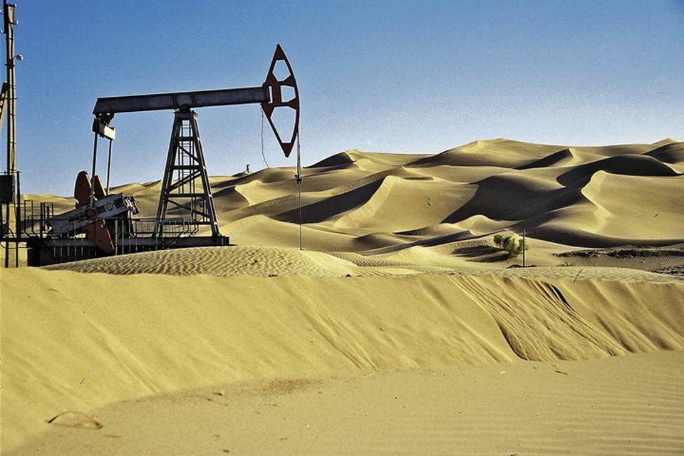 """Треть всего нашего экспорта составляет """"чёрное золото""""."""