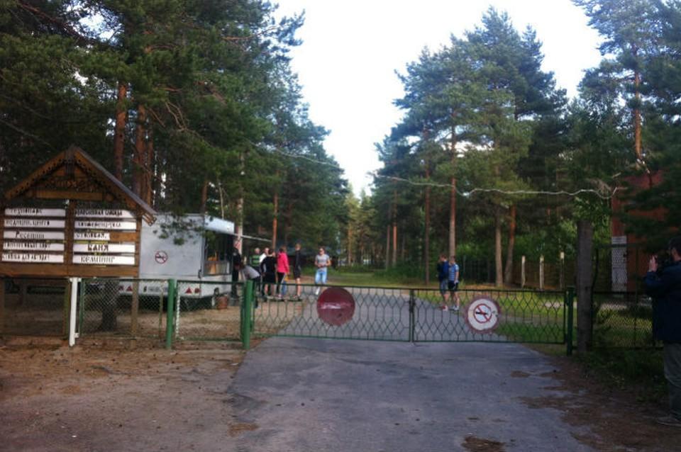 """В лагере """"Сямозеро"""""""