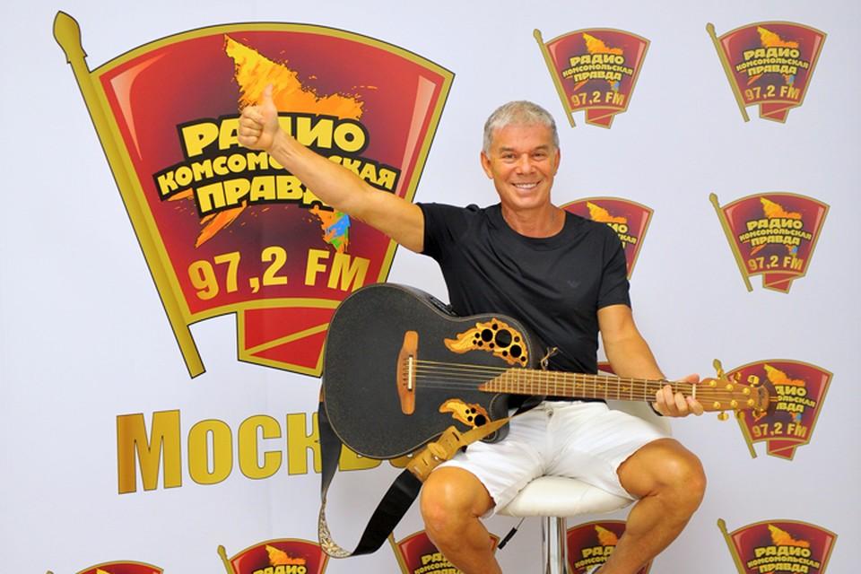 Олег Газманов в гостях у Радио «Комсомольская правда»