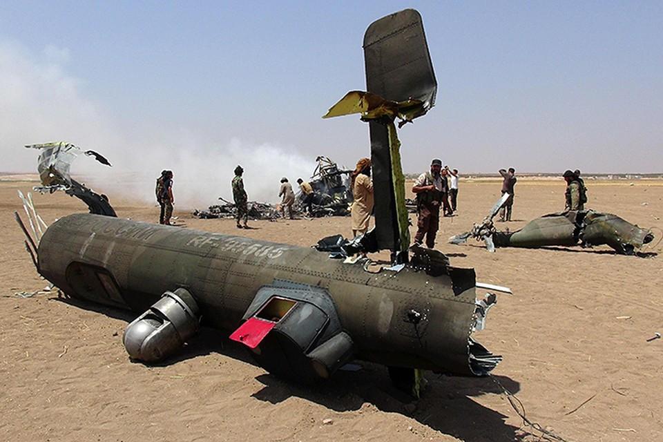 Ми-8 стал третьим российским вертолетом, потерянным в Сирии