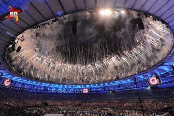 Открытие Олимпиады 2016 в Рио-де-Жанейро