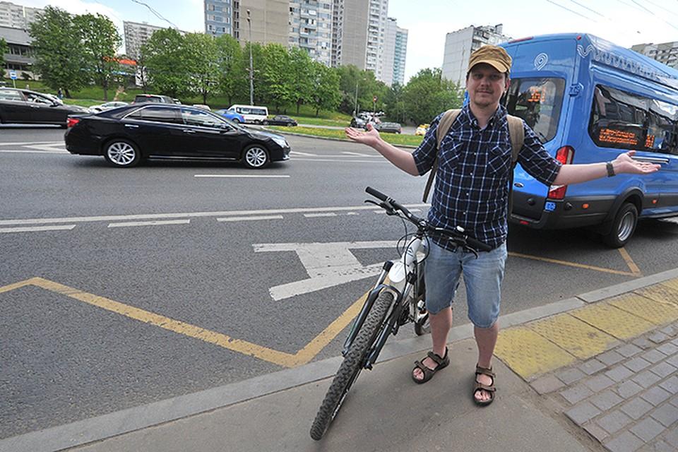 Наш корреспондент Олег Адамович знает о велосипедах все
