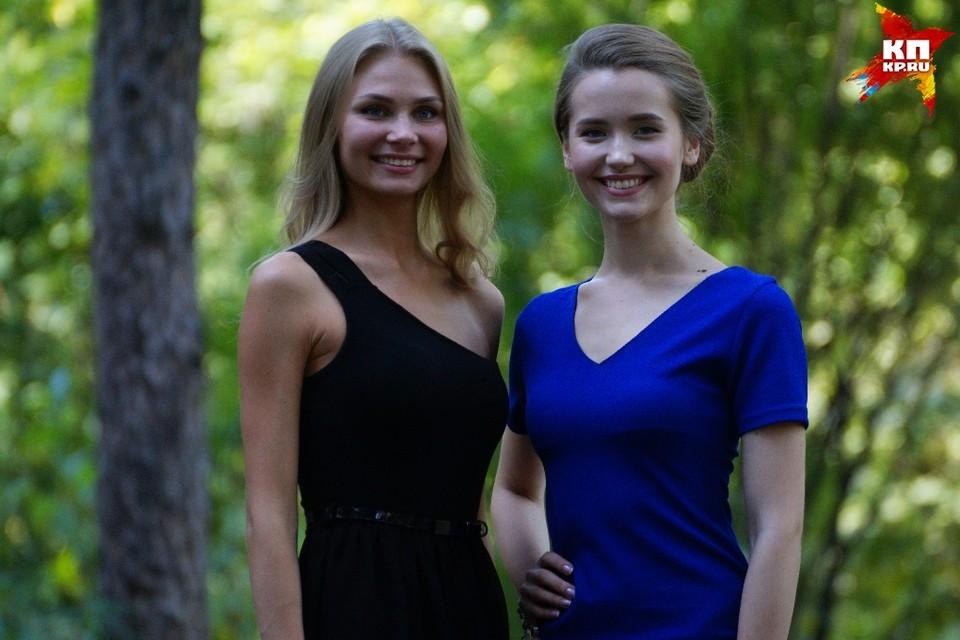 Елизавета Аниховская (справа) и Алена Капранова