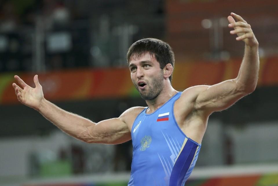 Борец Сослан Рамонов - обладатель 19-й золотой медали сборной России в Рио.