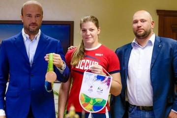 Олимпиада в Рио 2016: бронзовому призеру Екатерине Букиной из Ангарска подарили квартиру в Москве