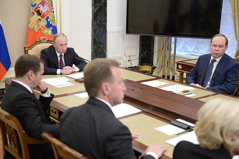 Путин задал себе и правительству вопрос «Какие выводы мы должны сделать из выборов в парламент?». Фото: Алексей Никольский/ТАСС
