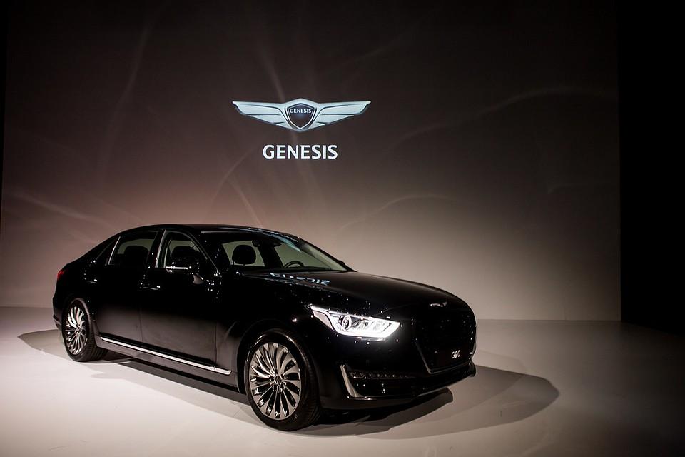 в россию пришла новая премиальная автомобильная марка Genesis