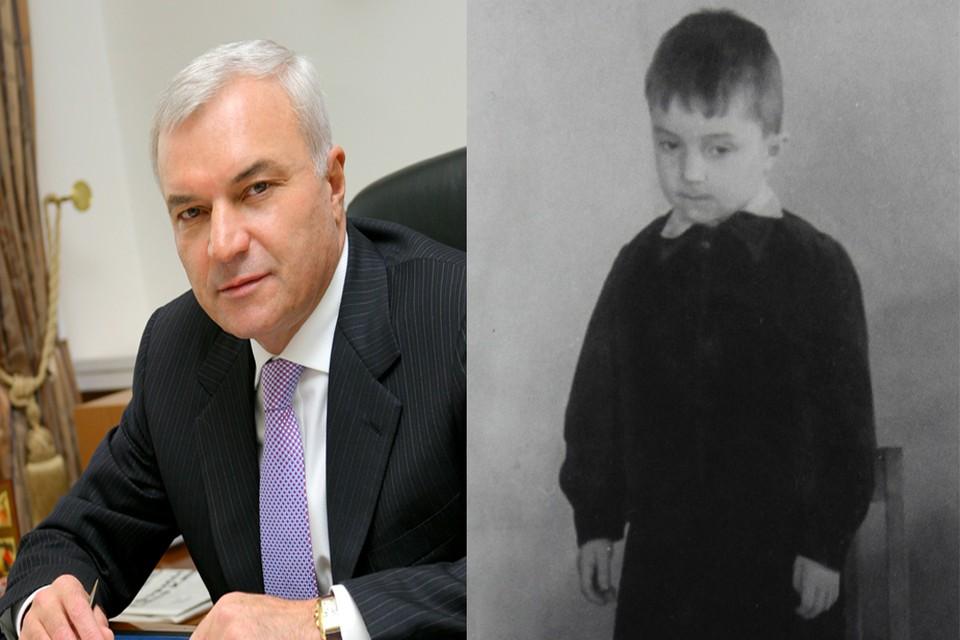 Слева Виктору Рашникову пять лет.