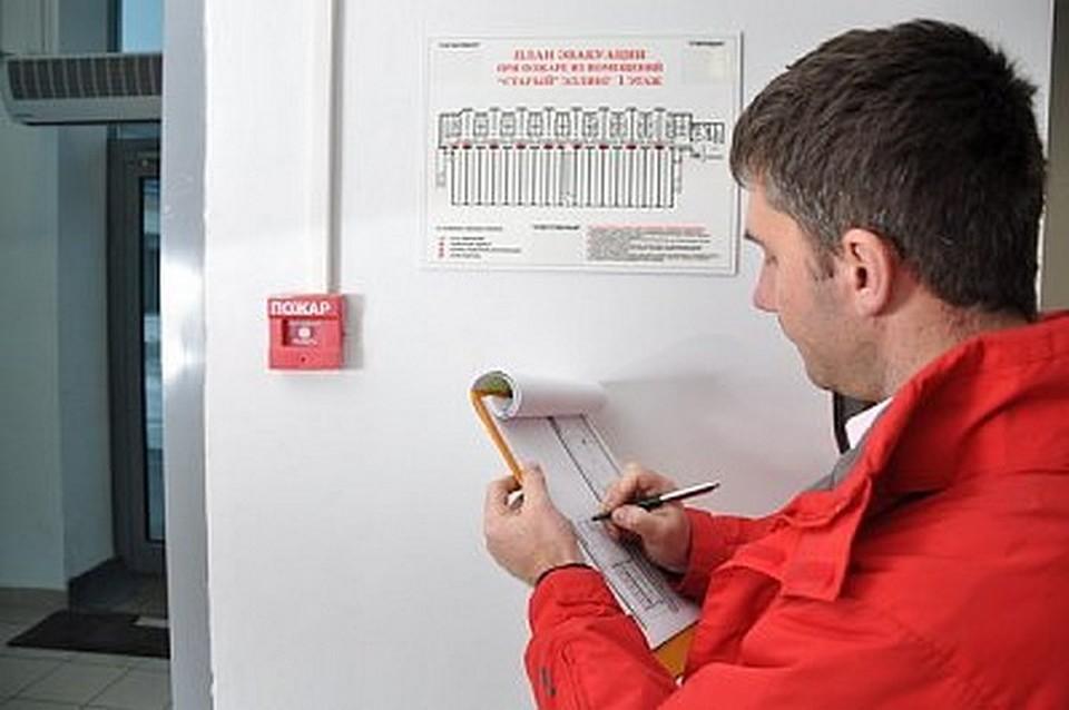 Обслуживание систем пожарной сигнализации.