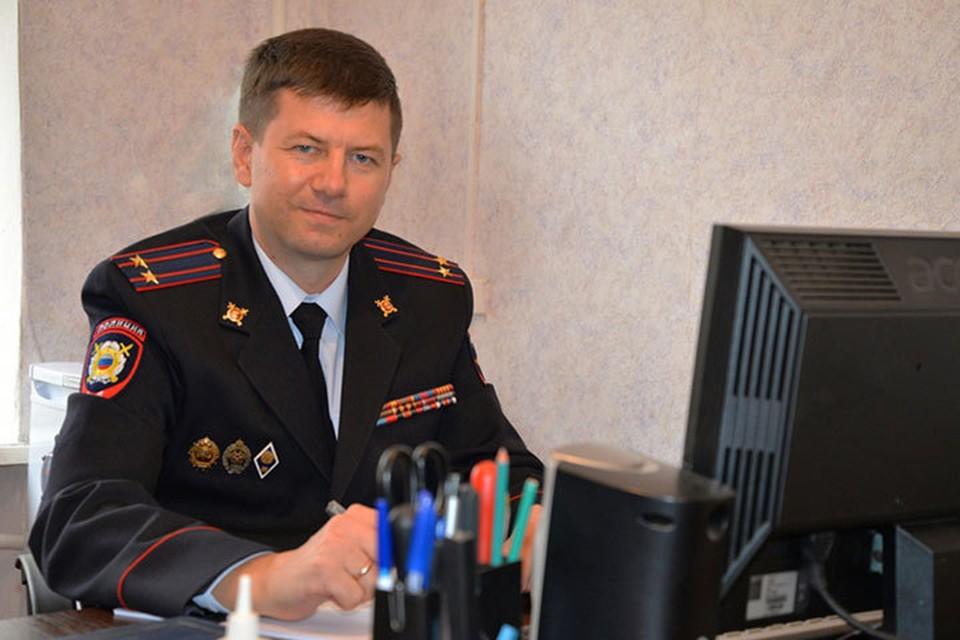 Павел Терещенко на своем посту с 1997 года. Фото с сайта ГУ МВД по Воронежской области.