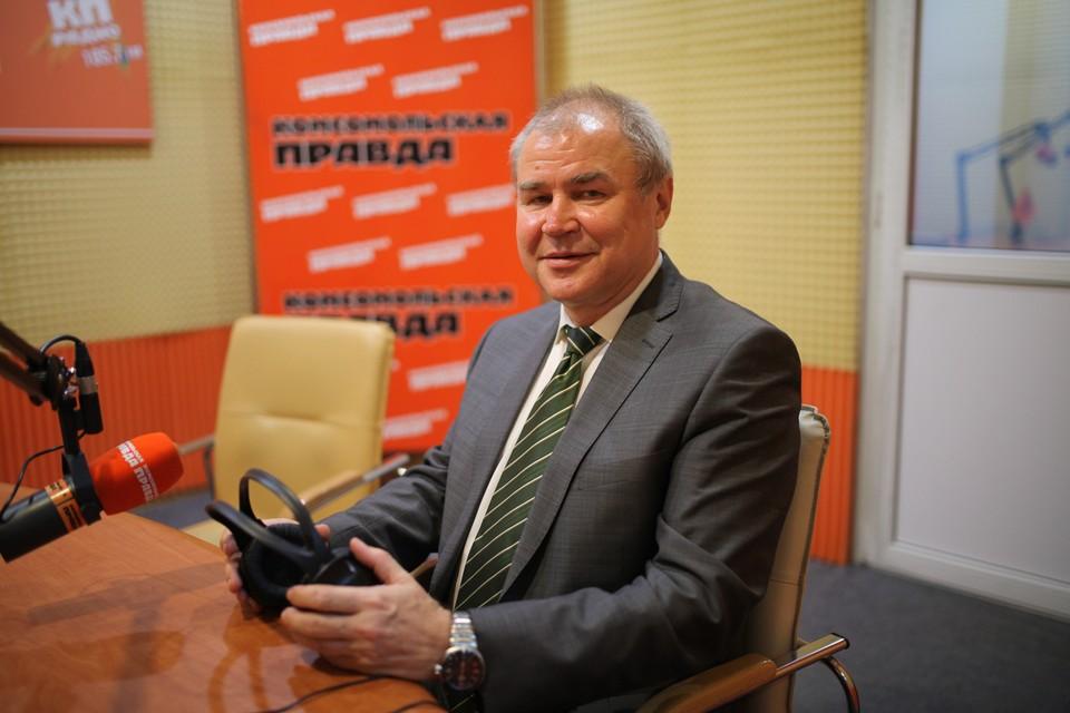 Главный редактор газеты «Ставропольская правда» Василий Балдицын