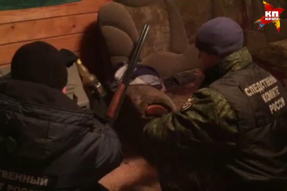 фото: стопкадр с видео, предоставленного пресс-службой СУ СК РФ по Псковской области.