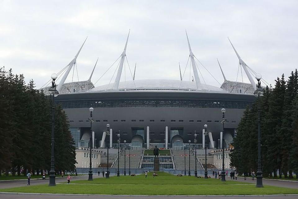 Стадион обещают сдать в конце декабря этого года