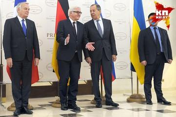 В Минске впервые встретились главы МИД стран «нормандской четверки»