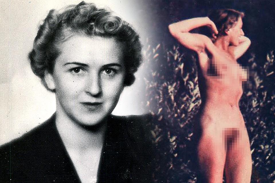Появились снимки обнаженной пассии Адольфа Гитлера - Евы Браун. ФОТО GLOBAL LOOK PRESS + BILD.de