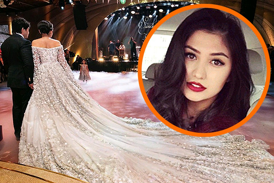d0d4e12542ed188 Таджикская принцесса оправдалась за свадебное платье в 40 миллионов рублей