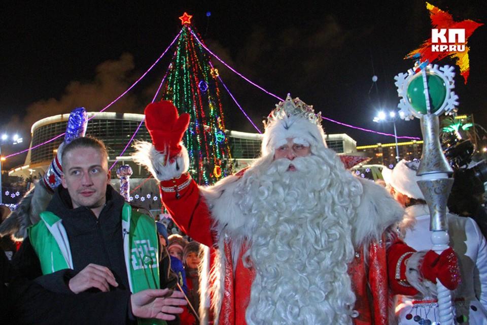 Дедушка Мороз приехал в Башкирию из Великого Устюга.