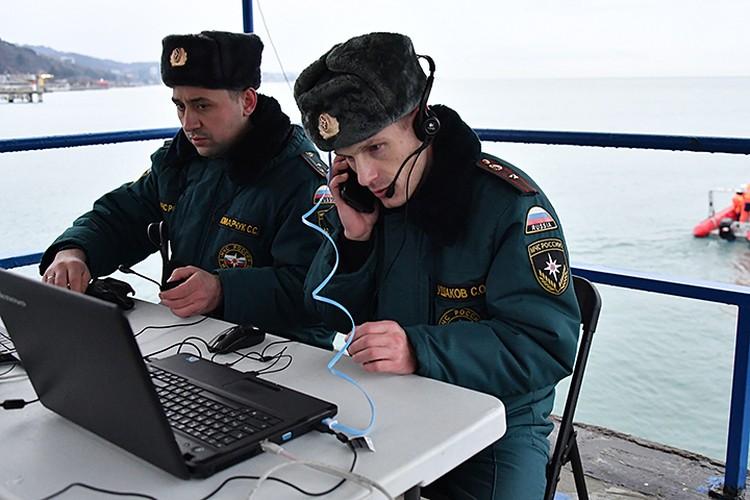 Из Москвы прибыла группа спасателей МЧС