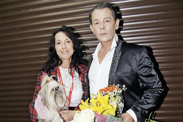 Со своим директором Ириной Аманти Казаченко прожил в гражданском браке более 20 лет.