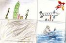 8-летний мальчик нарисовал, как Ту-154 падал в Черное море