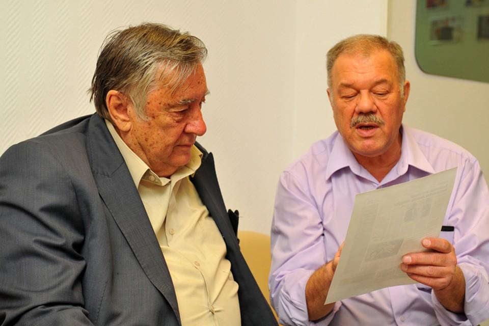Александр Проханов и Александр Гамов пообщались в первое утро нового года