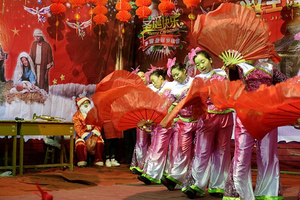 В Китае в Новый год, который 31 декабря, ничего особо не показывают