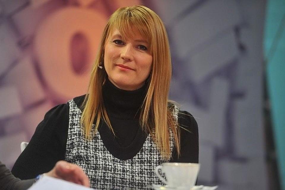 Депутат Госдумы, конькобежка, Заслуженный мастер спорта России Светлана Журова