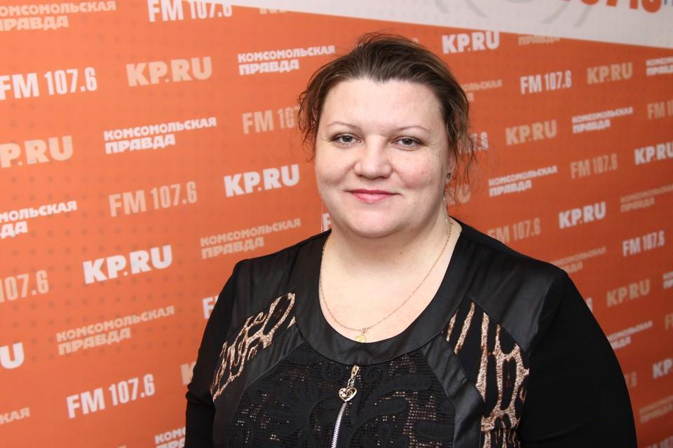 Начальник отдела общего образования Управления Администрации города Елена Землякова
