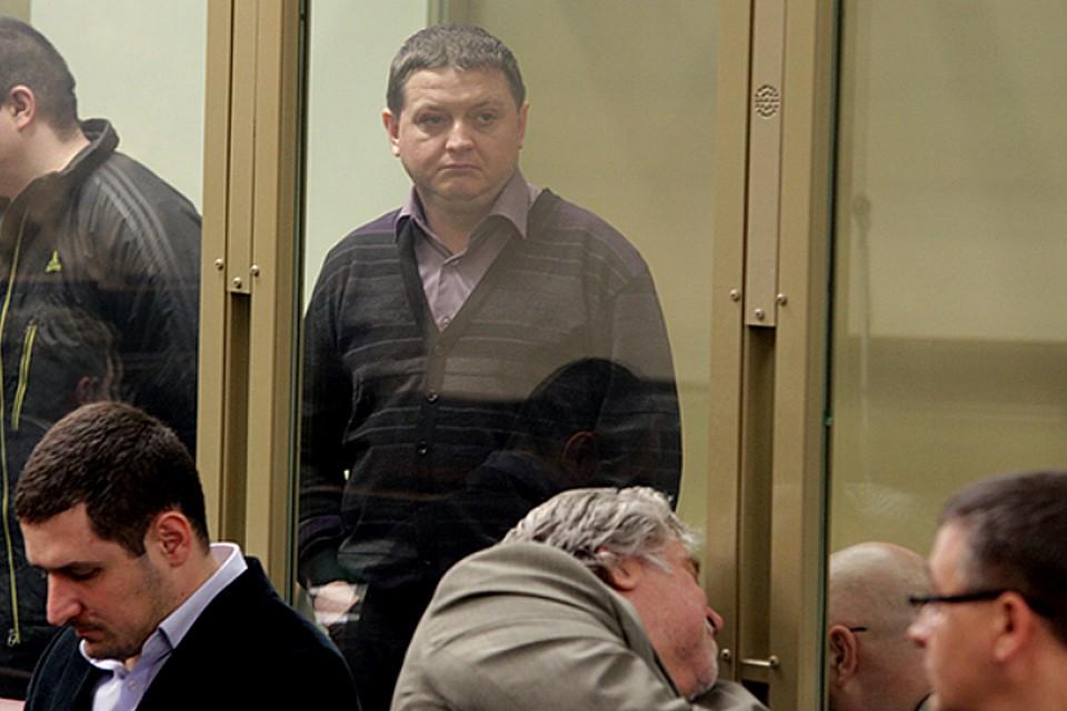 Вячеслав Цеповяз в зале суда.