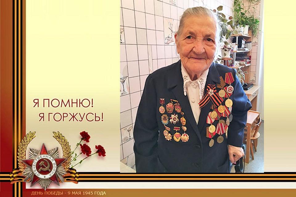 Вера Самойловна Гобадзе прошла всю войну с самого первого дня, 22 июня 1941 года, до Дня Победы.