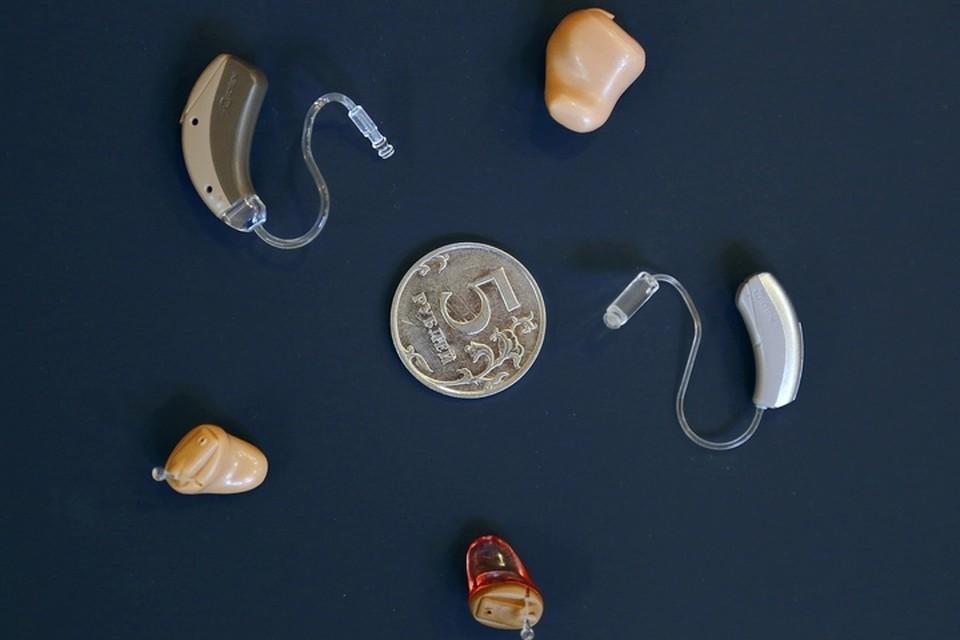 Современные слуховые аппараты миниатюрны и практически незаметны.