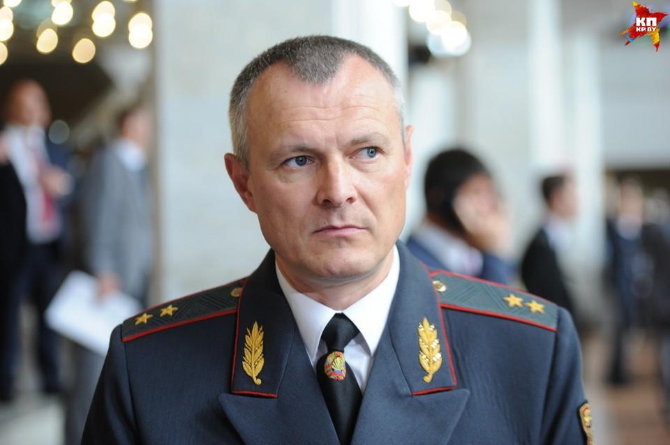 Игорь Шуневич возглавляет МВД с 2012 года.