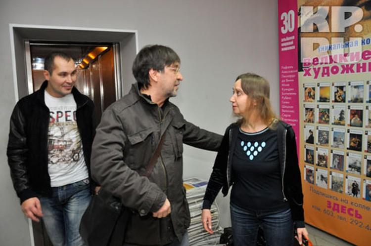 На гастролях в Уфе Юрий Шевчук пришел в гости к