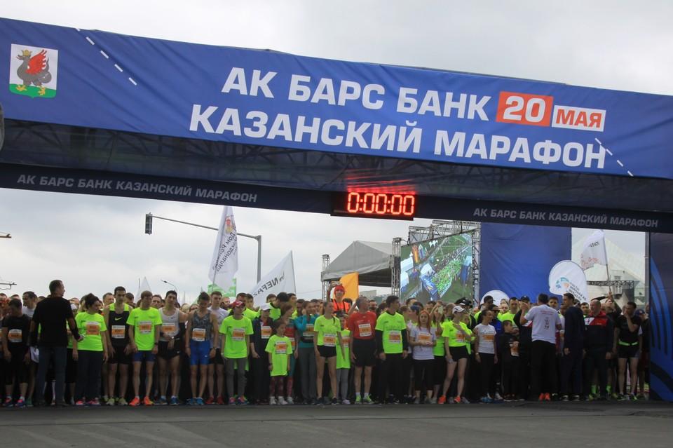 Забег РФ в Казани