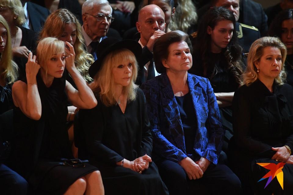 Прощание с Иосифом Кобзоном в концертном зале имени Чайковского.