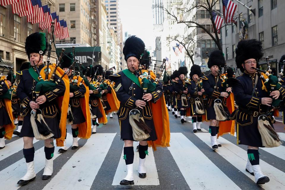 В Нью-Йорке прошел парад по случаю Дня святого Патрика