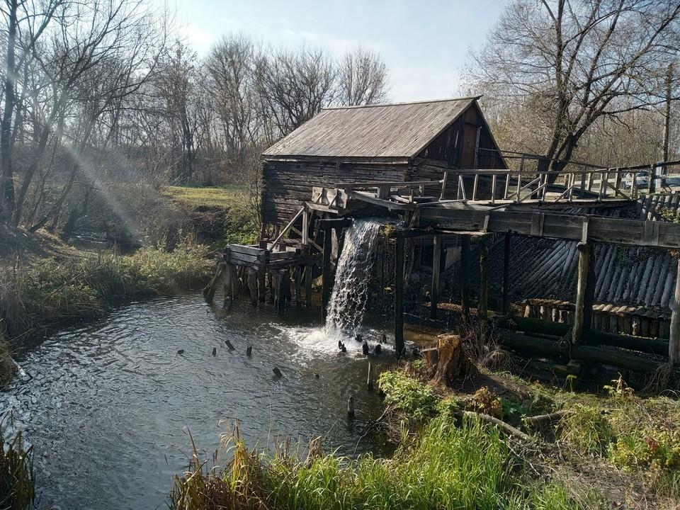 Водяная мельница в Курской области