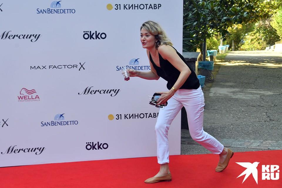 """Актриса Дарья Михалкова на фестивале """"Кинотавр"""""""