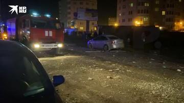 Оперативные службы работают на месте взрыва в Всеволжске