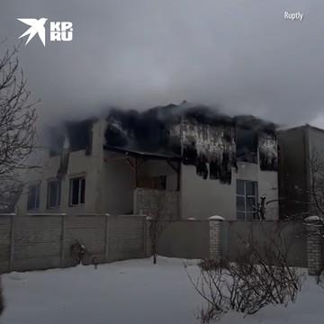 Как минимум 15 человек погибли при пожаре в частном пансионате в Харькове