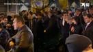 Пашинян вышел в толпу сторонников в Ереван