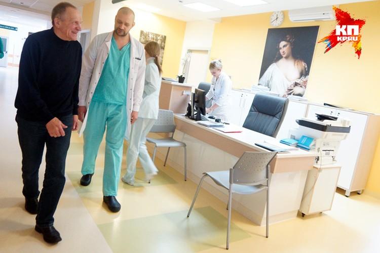 В госпитале все сотрудники обожают Тетюхина