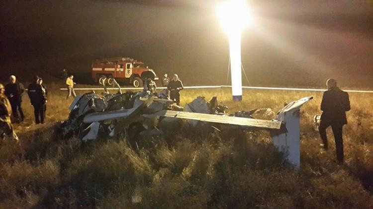 На днях в Крыму возле Коктебеля разбилась частная американская Cessna, самый модный у нас самолетик