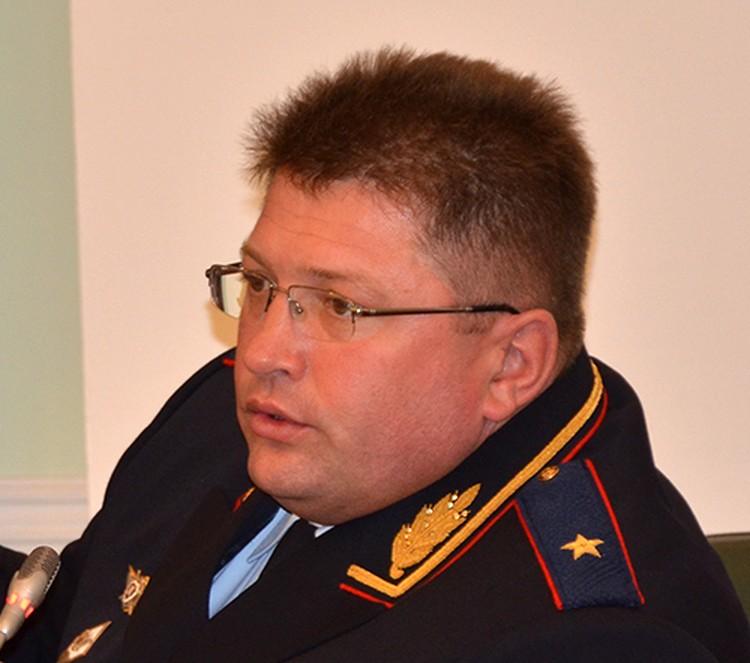 Экс-глава УОС МВД России, генерал-майор Андрей Пилипчук