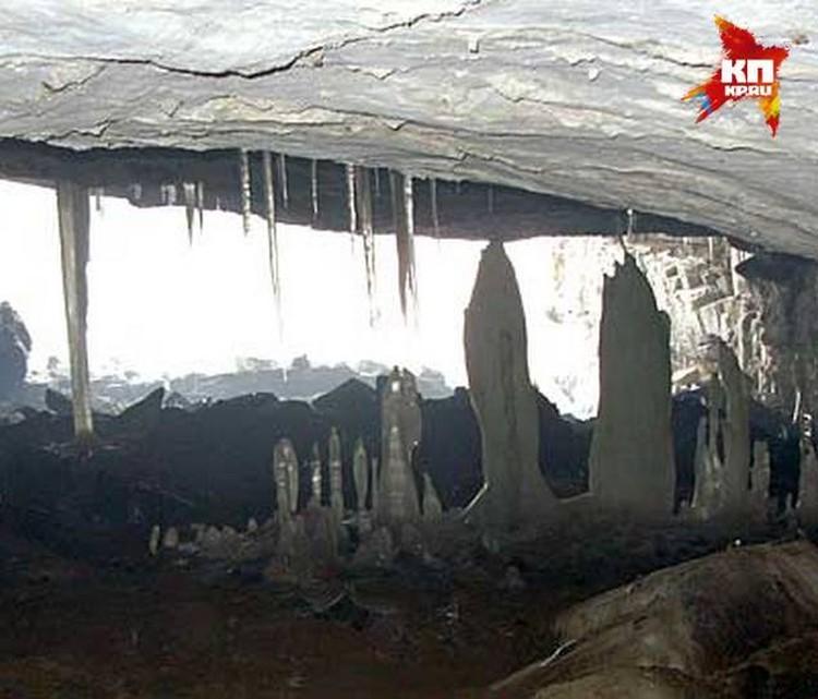 Вход в Азасскую пещеру
