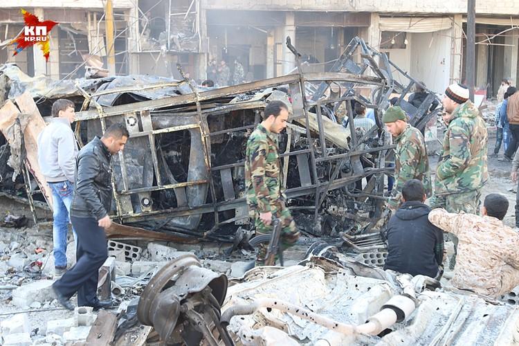 Крупный теракт в Дамаске устроили к переговорам в Женеве?